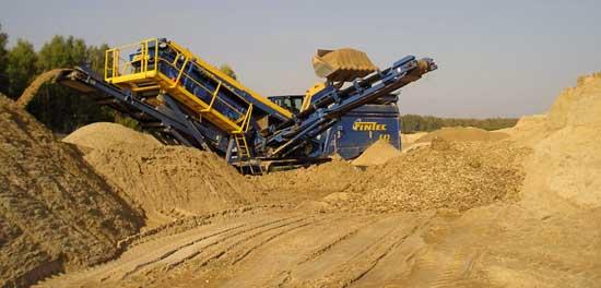 Очистка песка от глины