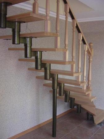 Лестница самостоятельно своими руками фото 666
