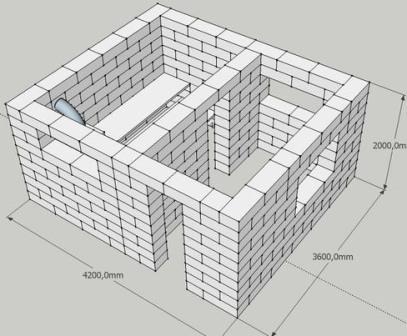 Баня из пеноблока - плюсы и минусы материала
